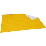 Yellow Emergency Highway Patrol Style Blanket