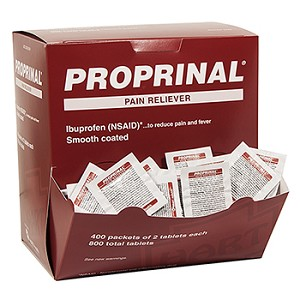 PROPRINAL Ibuprofen Pain Reliever, Industrial Pack  400/2'S BOX